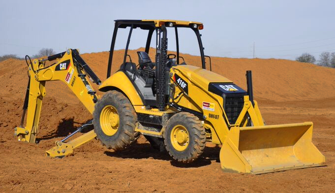 Loader Backhoe- Heavy Equipment Machine