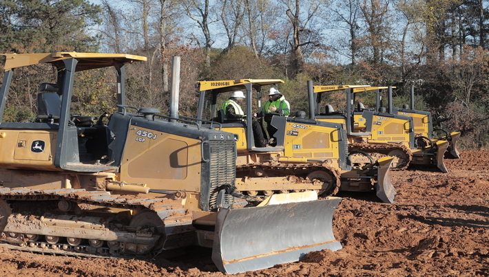 Bulldozers in Heavy Equipment Industry