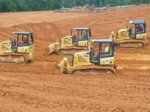 Heavy Equipment Machine Bulldozer