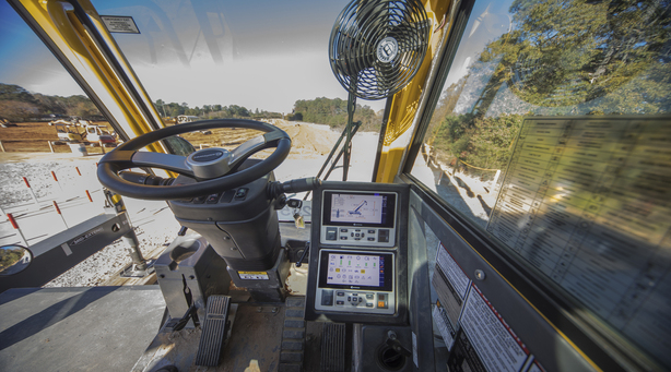 Safety Instructions for Heavy Equipment Operator's Cab