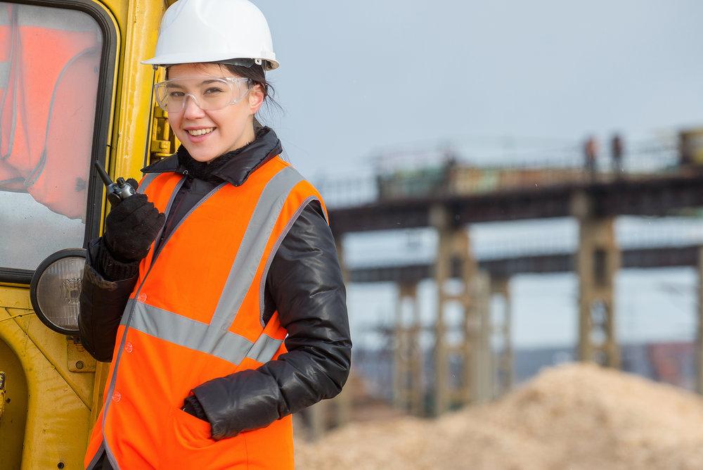 women in heavy equipment programs