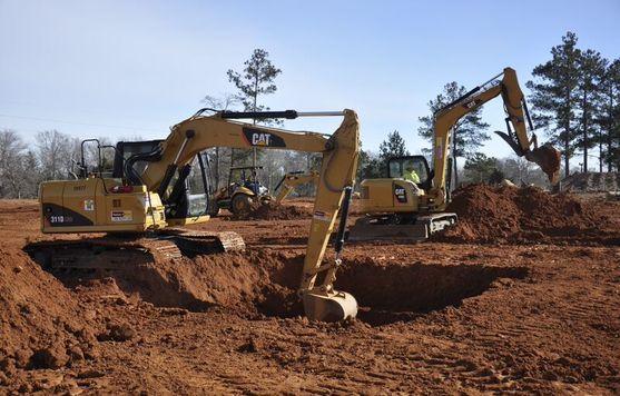 excavator heavy machine